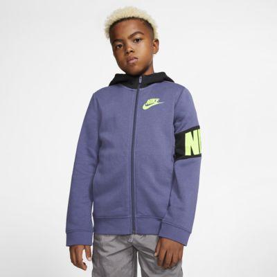 Nike Sportswear Boys' Full-Zip Hoodie
