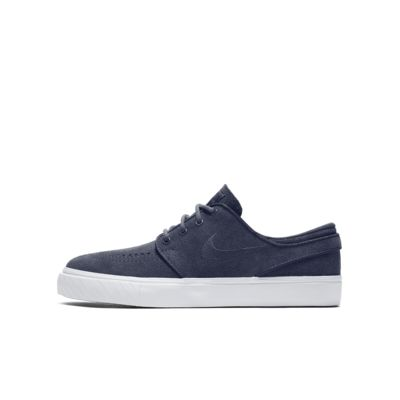 Nike SB Zoom Stefan Janoski Boys Skateboarding Shoes Pink/Blue/White rL1827F