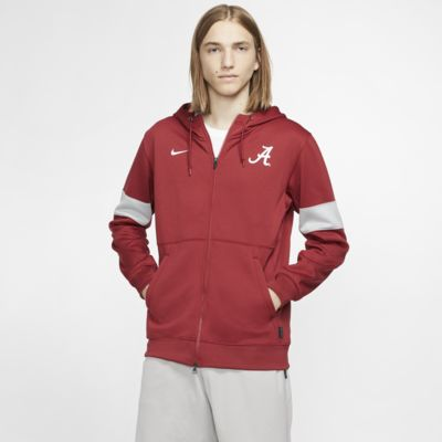 Nike College Therma (Alabama) Men's Full-Zip Hoodie