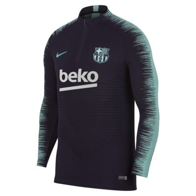 FC Barcelona VaporKnit Strike Drill Men's Long-Sleeve Football Top