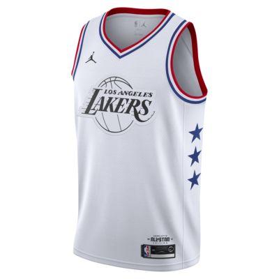 LeBron James All-Star Edition Swingman Men's Jordan NBA Connected Jersey