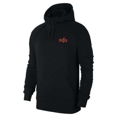 Atlético de Madrid Men's Fleece Pullover Hoodie