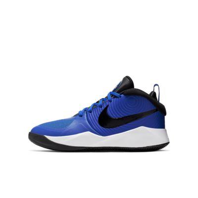dc96369390dd Nike Team Hustle D 9 Big Kids  Basketball Shoe. Nike.com