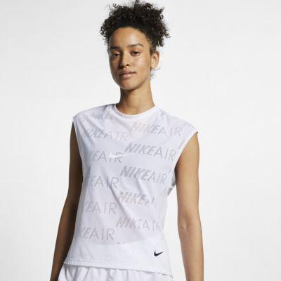 Haut de running à manches courtes Nike Air pour Femme