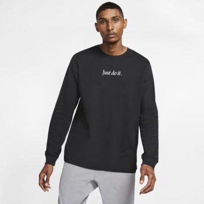 Męski T-shirt JDI z długim rękawem Nike Sportswear