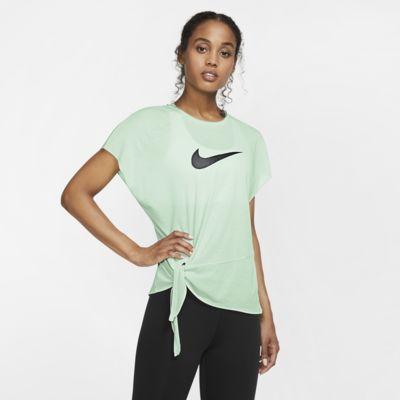Nike Dri-FIT Trainingstop met korte mouwen voor dames