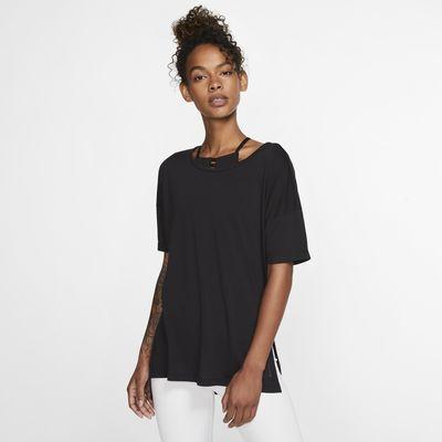 Nike Yoga Women's Short-Sleeve Top