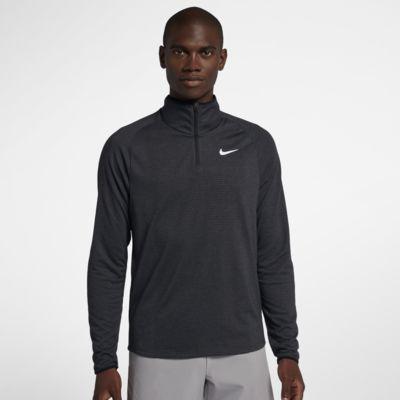 Tenniströja NikeCourt Dri-FIT Challenger med halv dragkedja för män