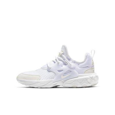 Nike React Presto-sko til store børn