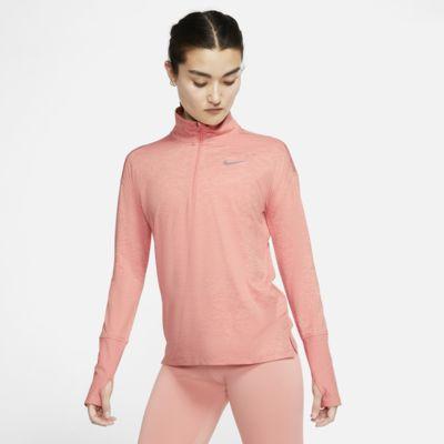 Nike Samarreta de running amb mitja cremallera - Dona