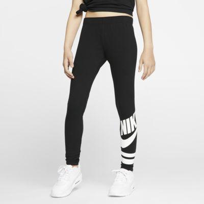 Leggings Nike Sportswear med tryck för ungdom (tjejer)