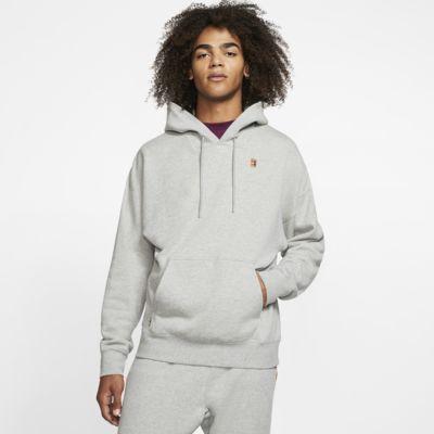 Pánská flísová tenisová mikina s kapucí NikeCourt