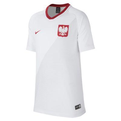 Camiseta de fútbol de local para niños talla grande Stadium de Polonia 2018