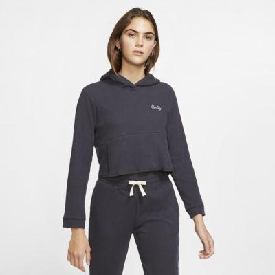 Hurley Chill Rib Fleece-Kurz-Pullover für Damen