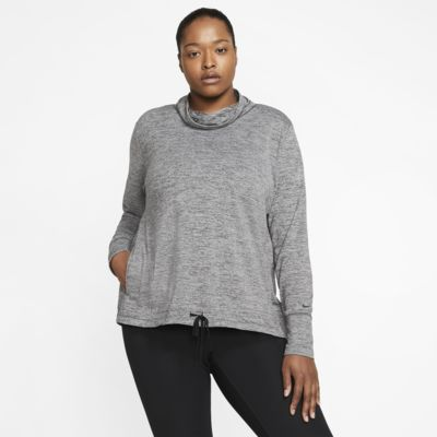 Nike Yoga Women's Funnel-Neck Top (Plus Size)