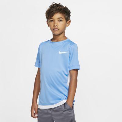 Nike Dri-FIT 大童 (男童) 短袖訓練上衣