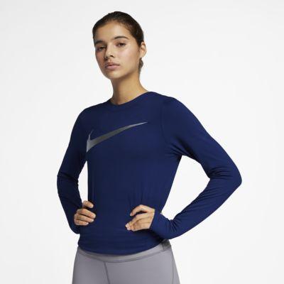Nike Dri-FIT-løbetop til kvinder