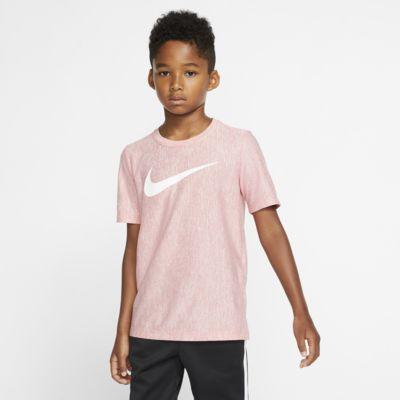 Футболка с коротким рукавом для тренинга для мальчиков Nike Dri-FIT