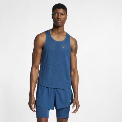 Camiseta sin mangas de running para hombre Nike AeroSwift