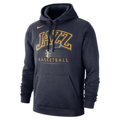 Utah Jazz Nike NBA-s kapucnis férfipulóver