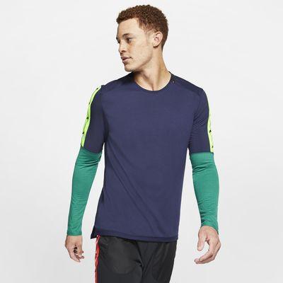 Ανδρική μακρυμάνικη μπλούζα για τρέξιμο Nike