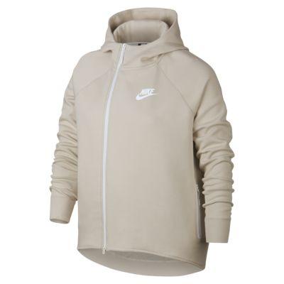 Nike Sportswear Tech Fleece Damesvest met rits (grote maten)