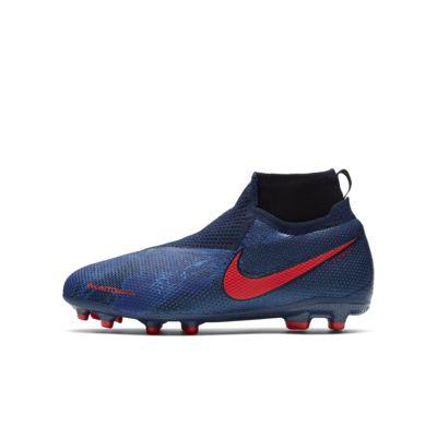 Calzado de fútbol para múltiples superficies para niños talla grande Nike Jr. Phantom Vision Elite Dynamic Fit MG