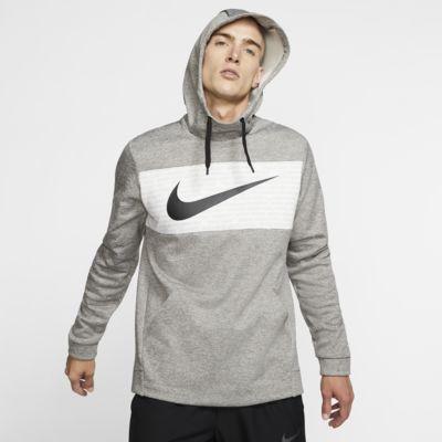 Sweat à capuche de training en tissu Fleece Nike Therma pour Homme