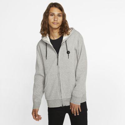 Felpa in fleece con cappuccio e zip a tutta lunghezza Hurley Endure Therma - Uomo