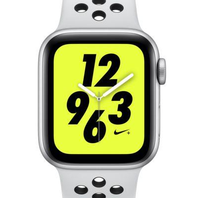 アップル ウォッチ ナイキ+ シリーズ 4 (GPS + Cellular) とナイキ スポーツバンド 40mm スポーツウォッチ