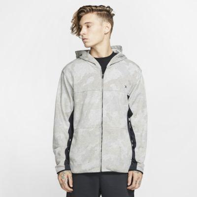 Hurley Dri-FIT Naturals Fleece-Hoodie mit durchgehendem Reißverschluss für Herren
