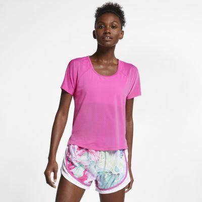 Nike Breathe Miler Samarreta de running - Dona