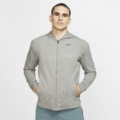 Nike Dri-FIT treningshettejakke for yoga til herre