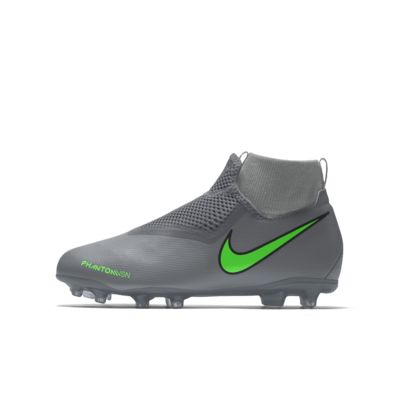 Nike Phantom Vision Academy Jr. MG By You Botas de fútbol para múltiples superficies personalizables - Niño/a