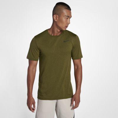 Купить Мужская футболка для тренинга с коротким рукавом Nike Breathe
