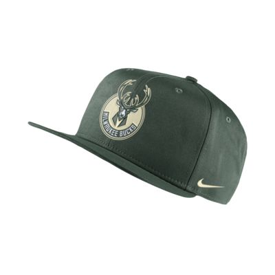 Milwaukee Bucks Nike Pro NBA Şapka