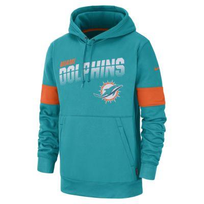 Nike Therma (NFL Dolphins) Men's Hoodie