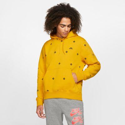 Nike SB Icon-pullover-skaterhættetrøje med print til mænd