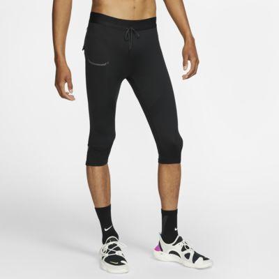 Nike Mallas de running de 3/4 - Hombre