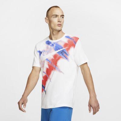 Nike Dri-FIT Langarm-Trainings-T-Shirt für Herren
