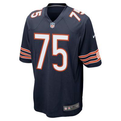 677ff4f03e064 Camisola de jogo de futebol americano NFL Chicago Bears (Kyle Long ...