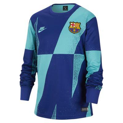Prenda para la parte superior de fútbol para niños talla grande FC Barcelona