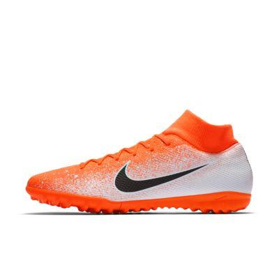 รองเท้าสตั๊ดฟุตบอลสำหรับพื้นสนามหญ้าเทียม Nike SuperflyX 6 Academy TF