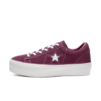 Converse One Star Suede Platform Women's Shoe