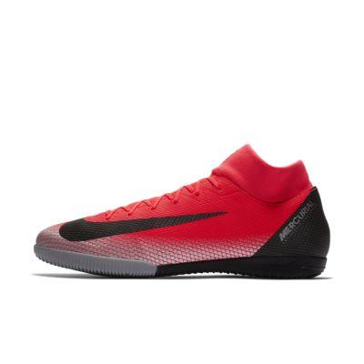 Футбольные бутсы для игры в зале/на крытом поле Nike MercurialX Superfly VI Academy CR7 IC