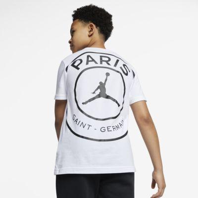 PSG-T-shirt med logo til store børn