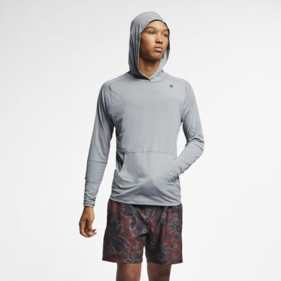 Hurley Quick Dry Men's Long-Sleeve Pullover Top
