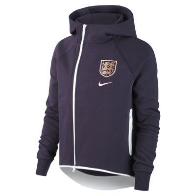 Fotbollscape England Tech Fleece för kvinnor