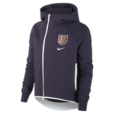Veste style cape de football England Tech Fleece pour Femme