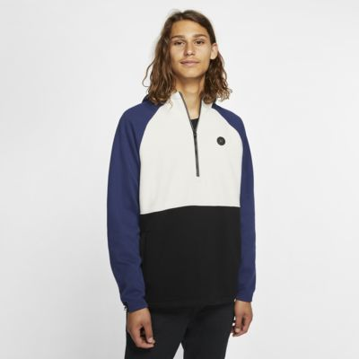 Sweat à capuche en tissu Fleece à 1/4 de zip Hurley Therma Endure Elite pour Homme